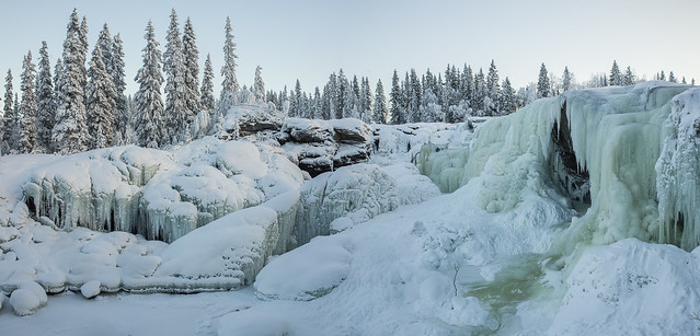Rista falls revisited - more ice now