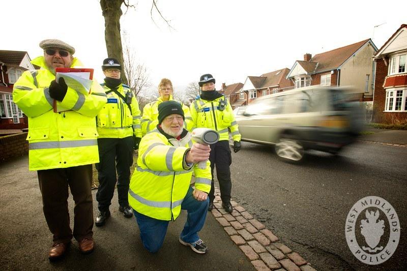 Day 37 - West Midlands Police - Speedwatch