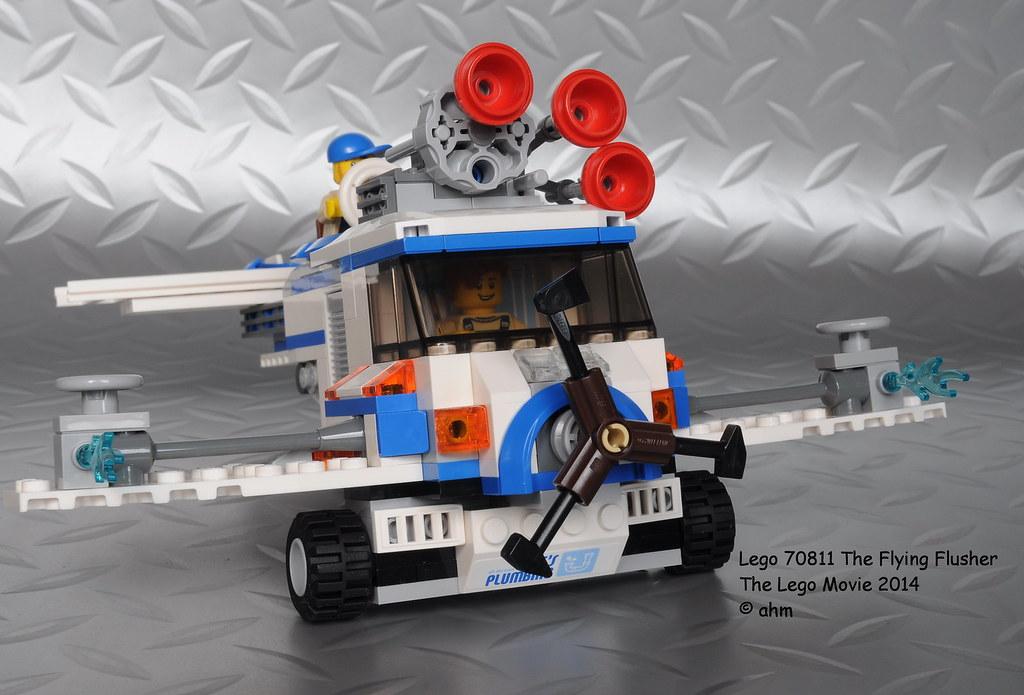 Lego The Lego Movie 70811 The Flying Flusher Lego The Lego Flickr
