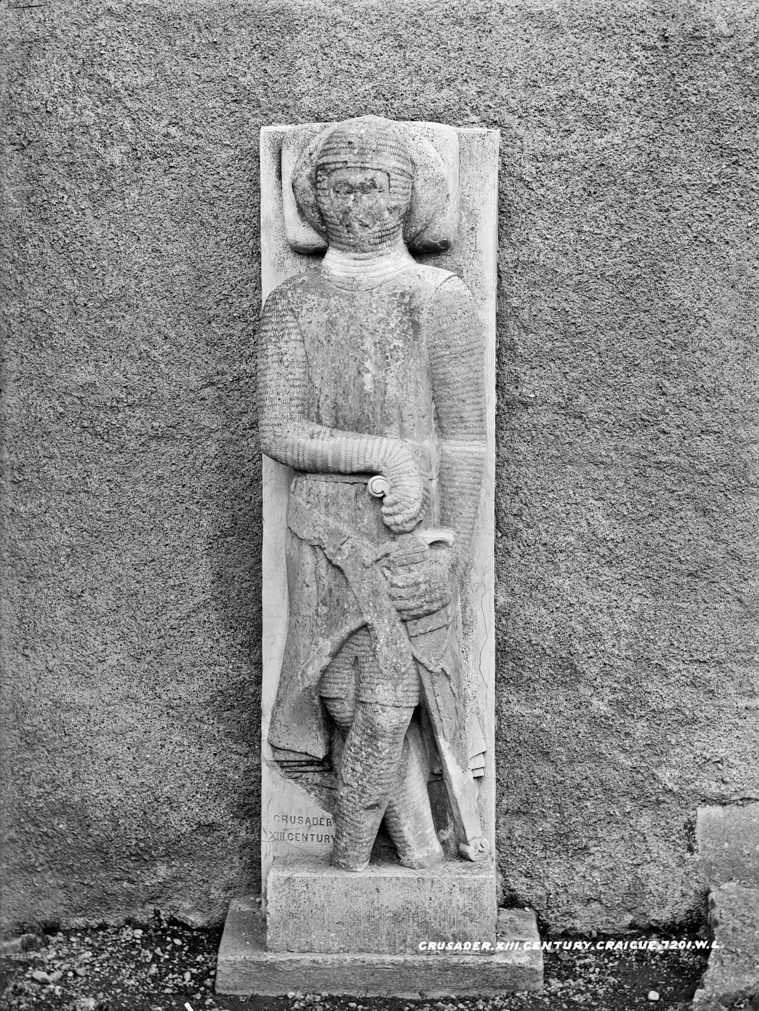 Crusader, XIII Century, Graiguenamanagh, Co. Kilkenny