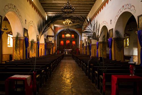 Mission San Juan Bautista, Palm Sunday