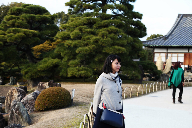 At Nijo Castle Gardens