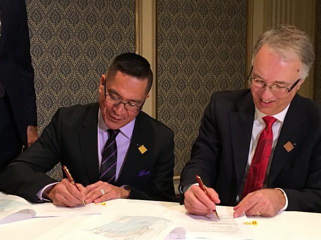 B.C., Kitselas First Nation strengthen LNG partnership
