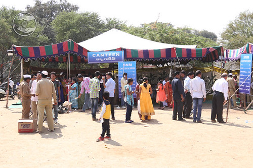 Canteen in the Satsang Pavilion