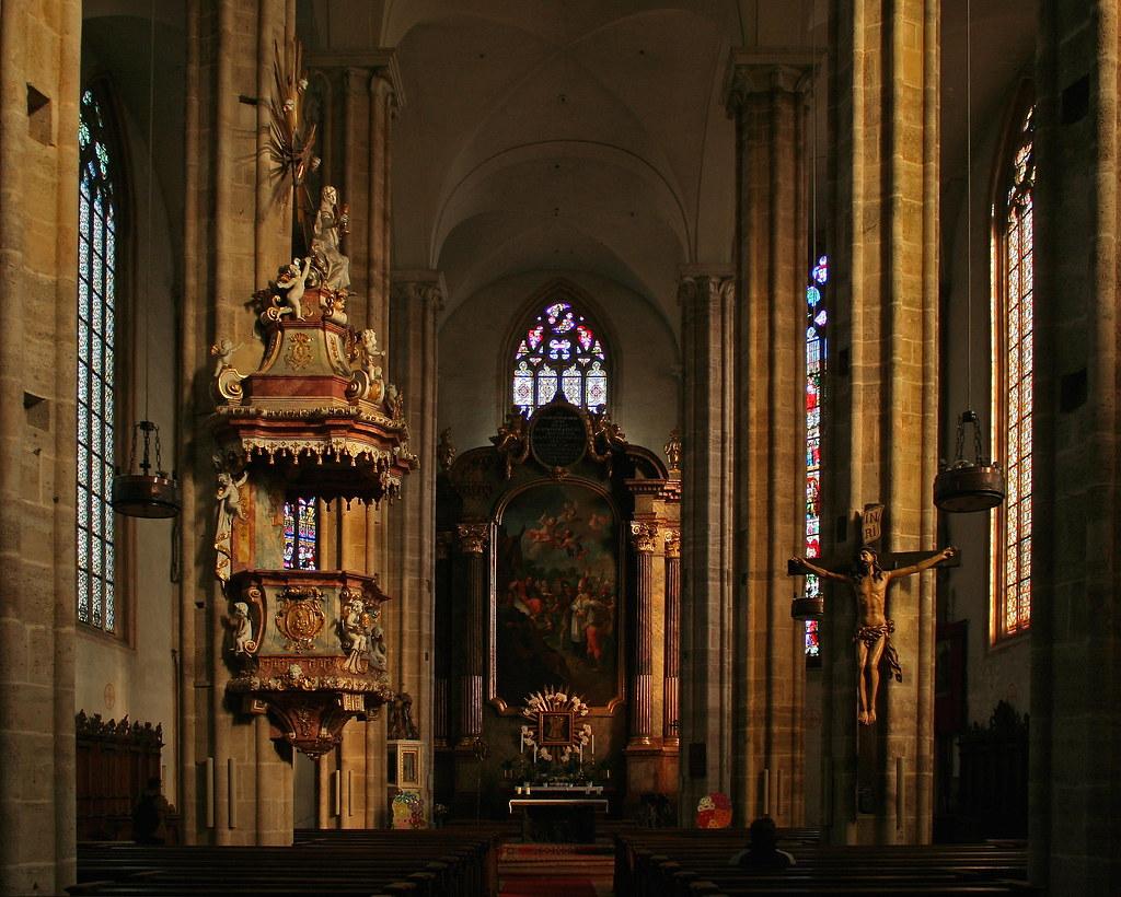 In der Othmarskirche in Mödling bei Wien