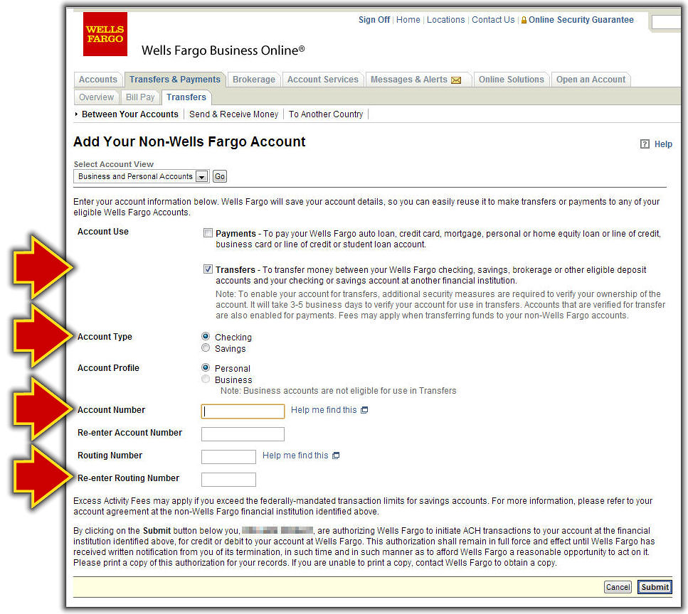 Fill In the Non-Wells Fargo Account Form | FamZoo Staff | Flickr
