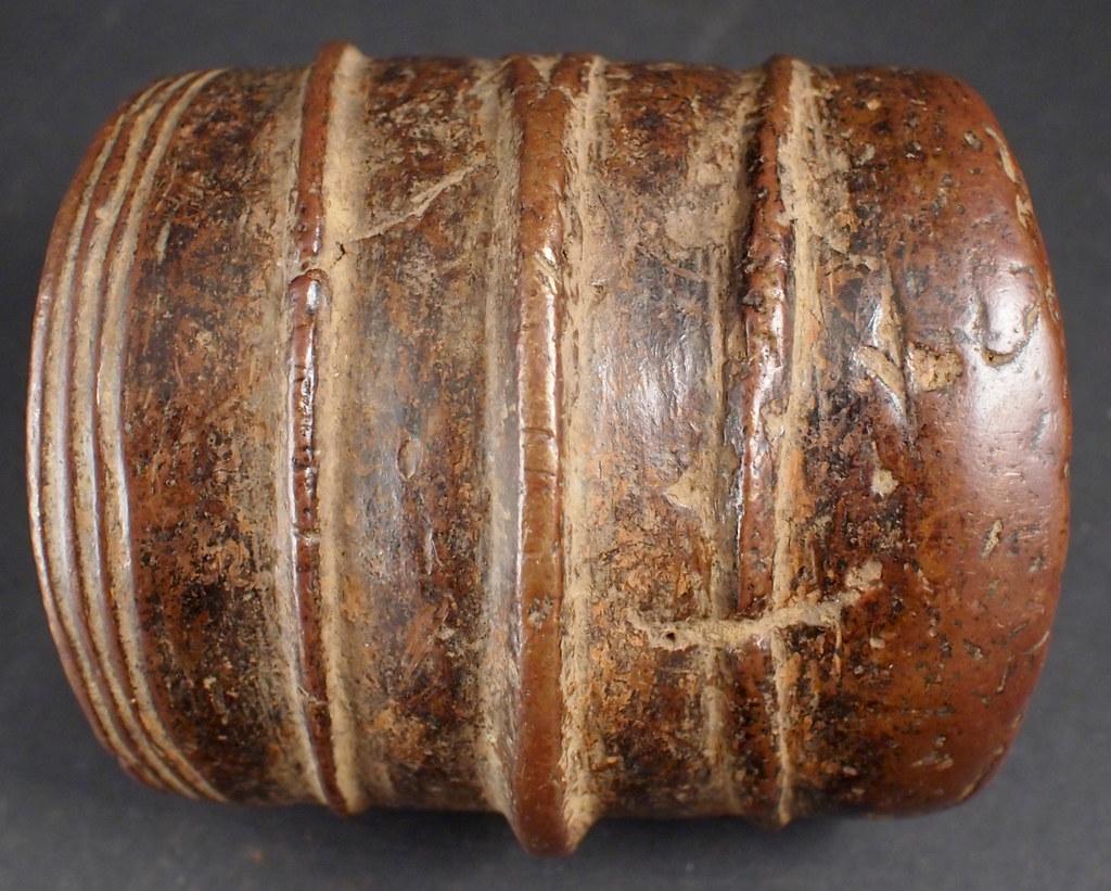 P9236833o Press moulded Ekonda Bronze Anklet. Congo, Circa ...