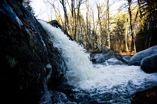 thanksgiving sunset fall ice forest canon river waterfall stream autum massachusetts newengland falls brook ashby 1740l 1dsmarkii stateforest trapfalls willardbrookstateforest trapfallbrook