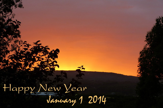 New Year dawn