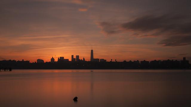 Still Downtown Sunset