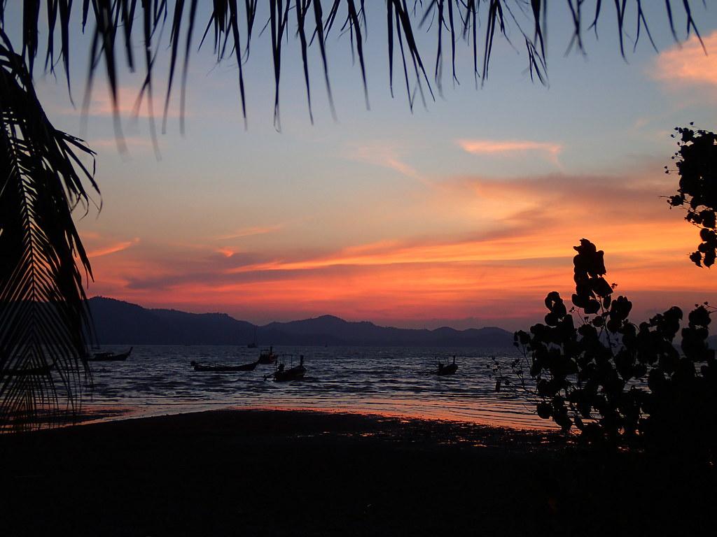 Sunset on Koh Yao Yai | Alix Cazenave | Flickr