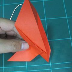 การพับกระดาษเป็นนกพิราบ (Origami pigeon) 00025