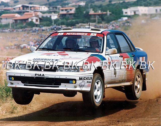 1991 Acropolis Rally, Kenneth Eriksson-Staffan Parmander