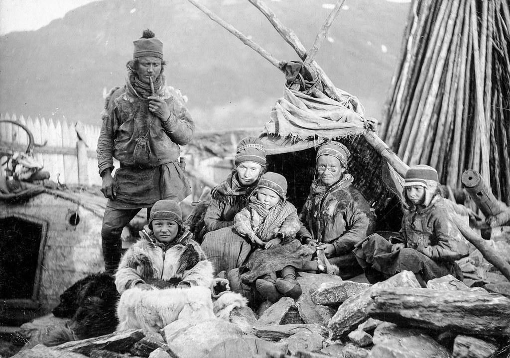 Sami people in 1894, Tromsø Norway. Samiske folk i Tromsø,… | Flickr