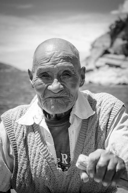 Bolivian Fisherman