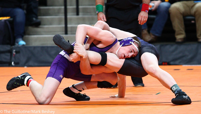 160A - Semifinal - Bailee O'Reilly (Goodhue) 41-1 won by major decision over Colton Krell (Westfield) 32-6 (MD 14-3)