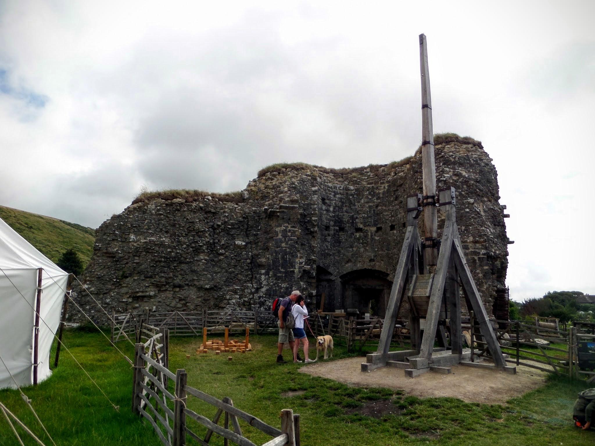 Trebuchet, Outer Bailey, Corfe Castle