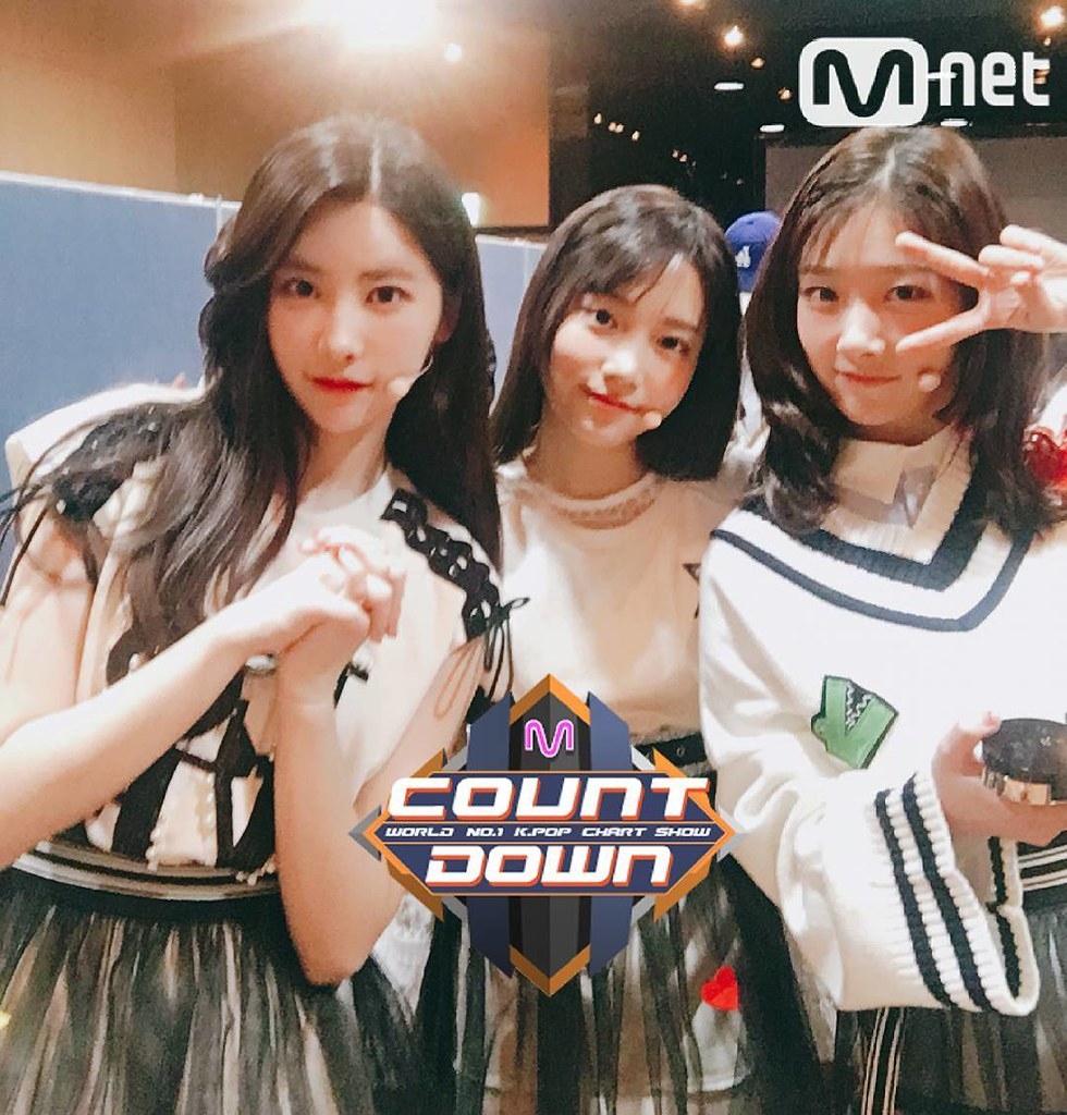 170420 MNET M! COUNTDOWN OFFICIAL TWITTER UPDATE WITH DIA