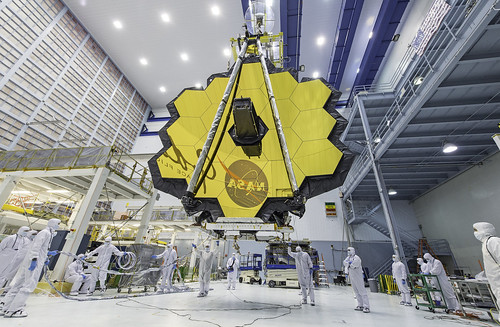 James Webb Space Telescope Mirror Seen in Full Bloom | by James Webb Space Telescope