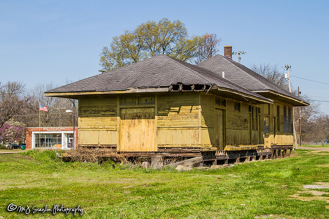 Webb, Mississippi Railroad Depot