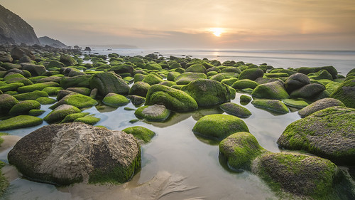 verde green naranja orange azul blue playa beach rocas rocks atardecer sunset nikon d500 campelo lacoruña galicia españa spain gcphotography campelobeach playadecampelo filtrosnd ndfilters largaexposicion longexposure agua water mar sea