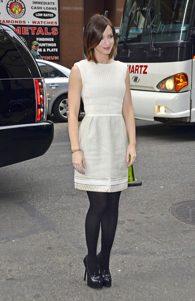 Emily Blunt Tights
