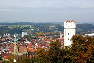Ravensburg - Blick über Stadtkirche und »Mehlsack« auf die Stadt | by Pixelteufel