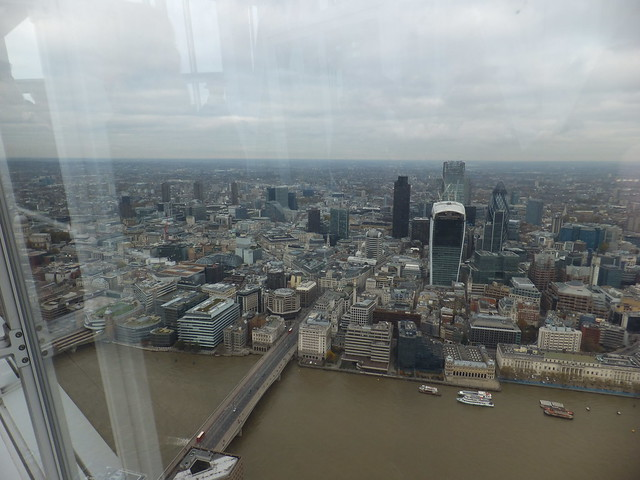A trip to The Shard