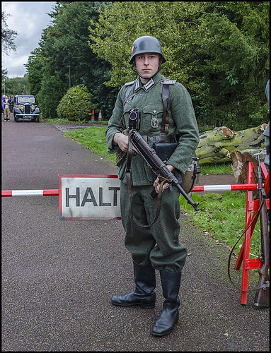 1940s Re-enactment, Papplewick, UK