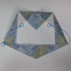 วิธีการพับกระดาษเป็นรูปม้า (Origami Horse) 030