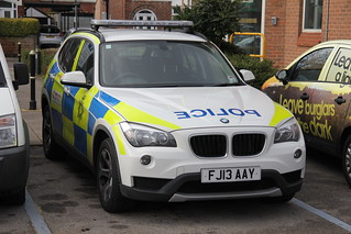 Nottinghamshire Police BMW X1 Incident Response Vehicle | Flickr
