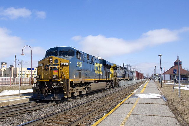 CN 327 picking up speed