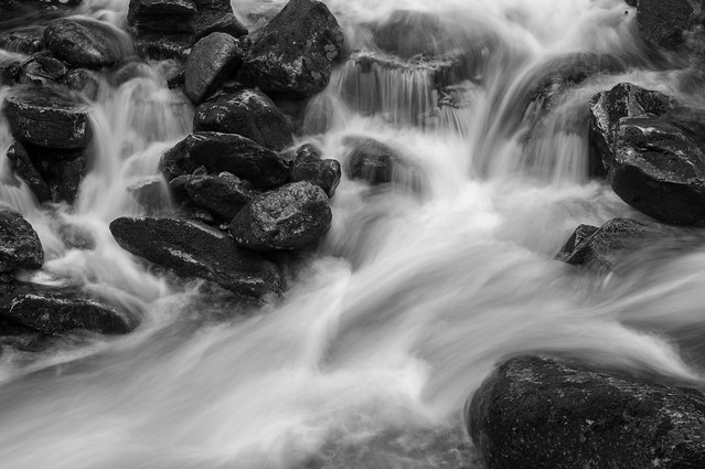 spring runoff, bumpus brook