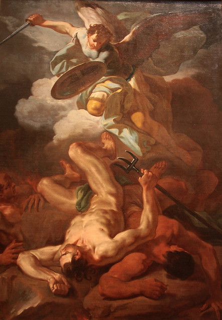 518The Archangel Michael casts Satan down from Heaven