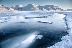 Kristin Nymark Heggland - Ice floating, Longyeardbyen, Svalbard