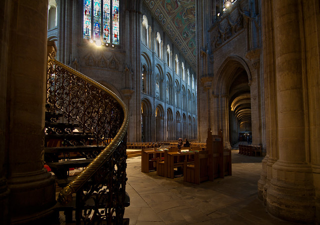 Ely Cathedral interior 2 UK