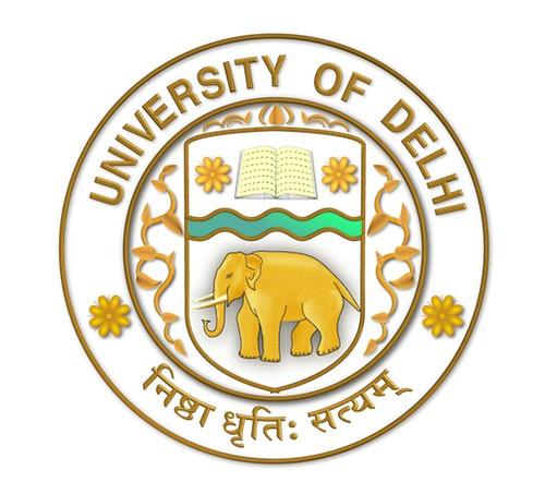 Delhi University DU LOGO SK Gold Trans | High Resolution Tra… | Flickr