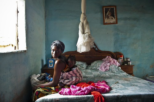 Madeleine has a 17 month-old daughter who was born at the village's primary health facility, | by World Bank Photo Collection