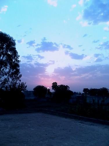 nature skyline clouds sunrise colours