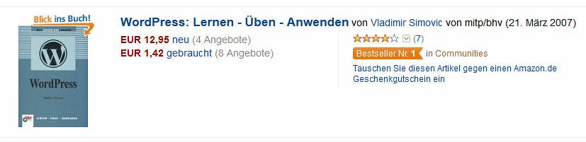 Ein Bestseller