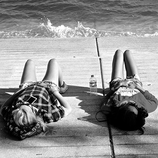 Girls relaxing | by pedrosimoes7