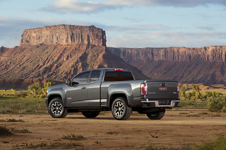 2015-GMC-Canyon-AT-Three-Quarter-Rear-View-003 | by rshadd
