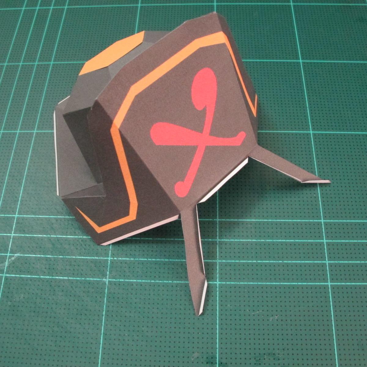 วิธีทำโมเดลกระดาษคุกกี้รัน คุกกี้รสโจรสลัด (Cookie Run Pirate Cookie Papercraft Model) 001