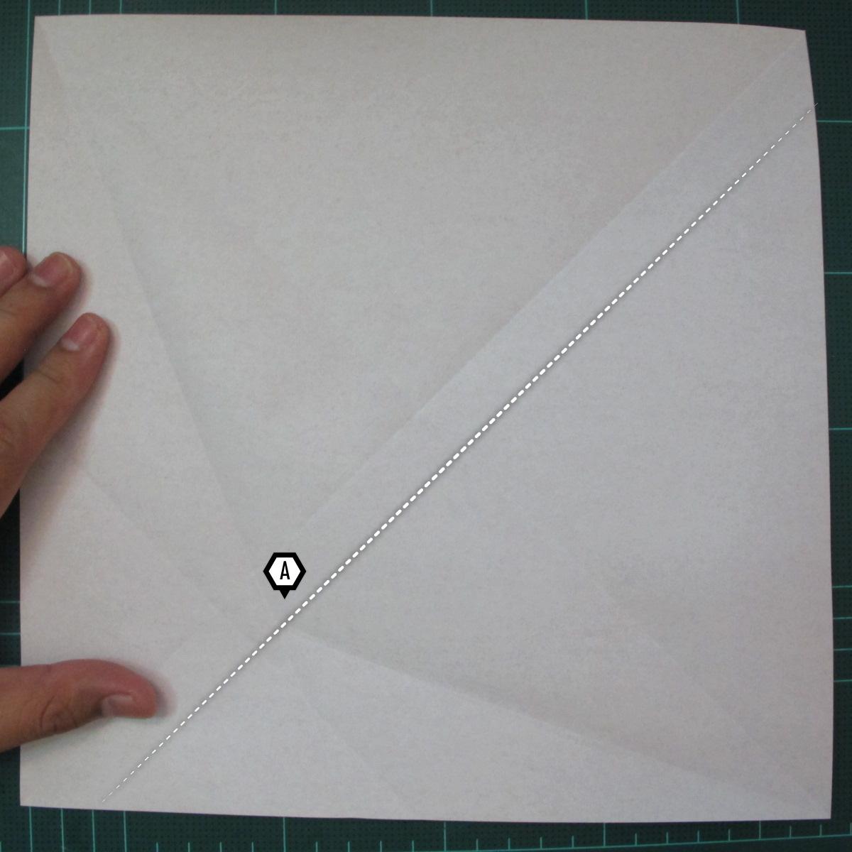 การพับกระดาษเป็นรูปสัตว์ประหลาดก็อตซิล่า (Origami Gozzila) 004