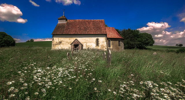 Upwaltham Church near Chichester