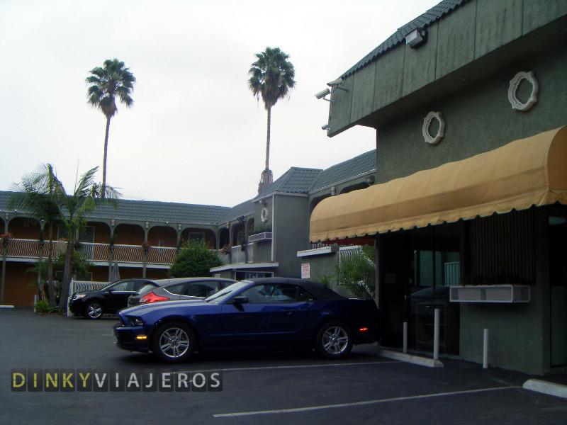 Hotel Rodeway Inn, Hollywood (Los Angeles). Entrada