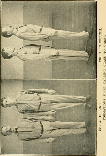 """Image from page 6 of """"Graded calisthenic and dumb bell drills"""" (1916) 
