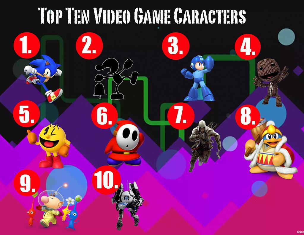 Top Ten Video Game Characters