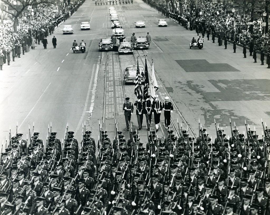 Inaugural Parade, January 20, 1953 (Courtesy of Creative Commons)