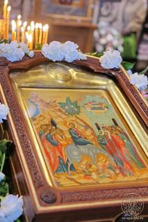Литургия в Софийском соборе 145